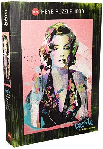 Heye Marilyn 1000 Piece Johnny Cheuk Jigsaw Puzzle By Heye 0