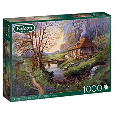 Jumbo Cottage In The Woods Puzzle Multicolore 11243 0