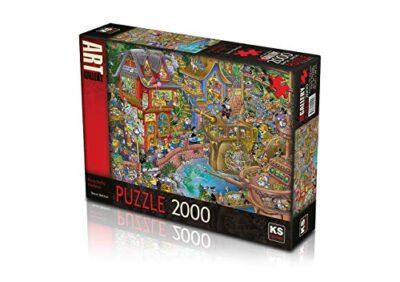 Ks Games 22504 Puzzle 2000 Effetti Di Poncheffs Harbour 960 X 680 Cm 0