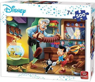 King Disney Pinocchio Jigsaw Puzzle 500 Pz 55915 0