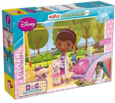 Lisciani Giochi Dottoressa Peluche Puzzle 108pz 43750 Multicolore 8008324043750 0