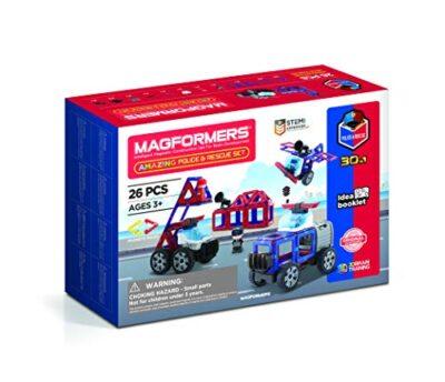 Magformers 717001 Costruzioni Magnetiche Colore Red Blue Black Grey 0