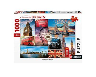 Nathan Puzzle 1000 Pieces Visite Londres Adulto Colore 4005556876327 0