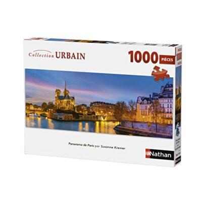 Nathan Puzzle Paris Kremer 1000 Pezzi Panorama 87577 Multicolore 0