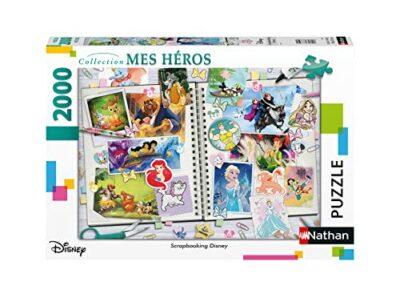 Nathan Puzzle Da 2000 Pezzi Motivo Disney Classico Adulto 4005556878871 0