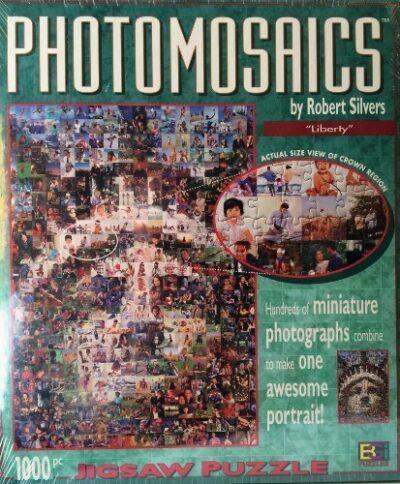 Photomosaic Jigsaw Puzzle Liberty By Robert Silvers Photomosaics 0