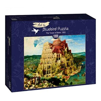 Pieter Bruegel Puzzle La Torre Di Babele 1000 Pezzi 0