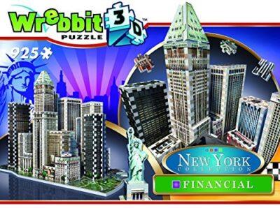 Puzzle 925 Pezzi Puzzle 3d New York Collezione Financial By Wrebbit 3d 0
