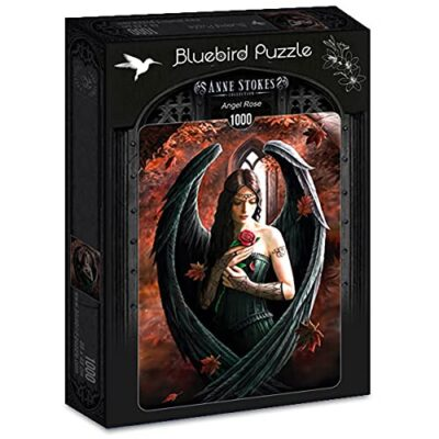 Puzzle Angel Rose Anne Stokes 1000 Pezzi 70437 Bluebird 0