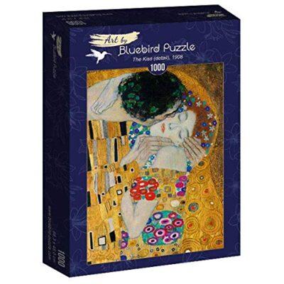Puzzle Arte Il Bacio Dettagli Klimt 1000 Pezzi Blubird 0