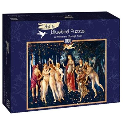 Puzzle Arte La Primavera Botticelli 1000 Pezzi Bluebird 0
