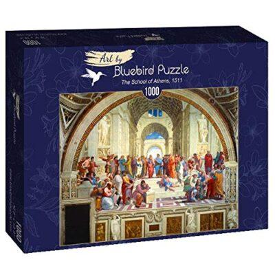 Puzzle Arte La Scuola Di Atene Raffaello 1000 Pezzi Bluebird 0