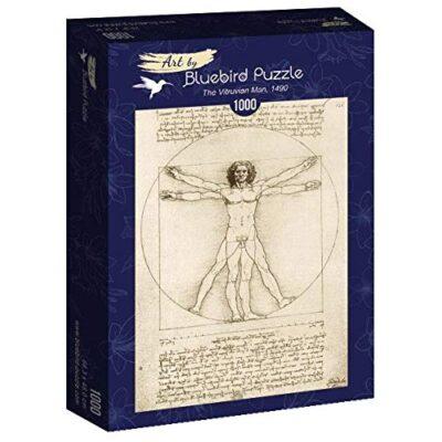 Puzzle Arte Luomo Vitruviano 1000 Pezzi Bluebird 0