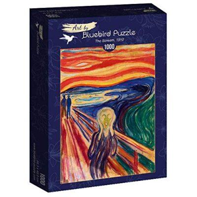 Puzzle Arte Lurlo Di Munch 1000 Pezzi Bluebird 0