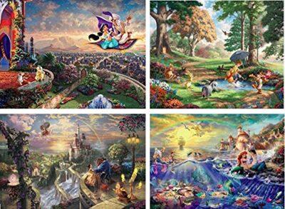Puzzle Disney 4 In 1 3 3667 1 0