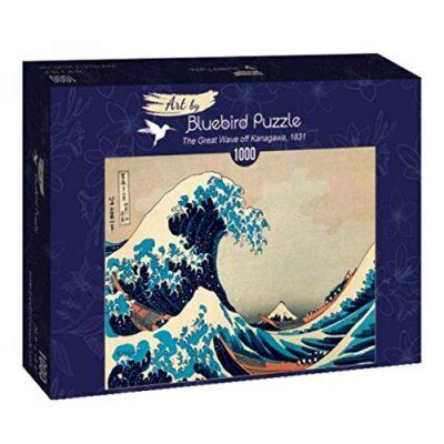 Puzzle Hokusai Londa Di Kanagawa 1000 Pezzi 0