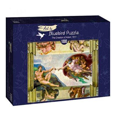 Puzzle Michelangelo La Creazione Di Adamo 1000 Pezzi 0