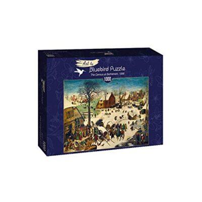 Puzzle Pieter Bruegel The Elder The Census At Bethlehem 1566 1000 Pezzi 0