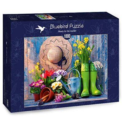 Puzzle Ready For The Garden 1000 Pezzi Bluebird 0
