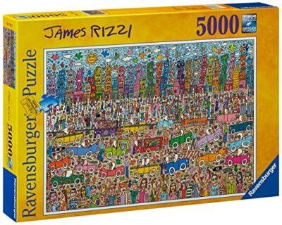 Ravensburger 17427 James Rizzi Puzzle 5000 Pezzi 0