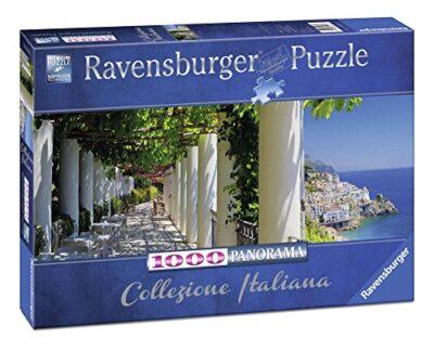Ravensburger Puzzle Puzzle 1000 Pezzi Amalfi Collezione Italiana Puzzle Per Adulti Puzzle Italia Puzzle Ravensburger Stampa Di Alta Qualita 0