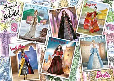 Ravensburger Puzzle Da 1000 Pezzi Barbie Autour Du Mondo Adulto 4005556165025 0