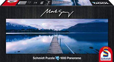 Schmidt Mark Gray Puzzle Tematica Lake Wakatipu New Zealand 1000 Pezzi 0