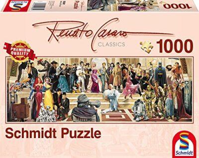 Schmidt Puzzle 100 Anni Di Cinema Renato Casaro 1000 Pezzi 59381 0