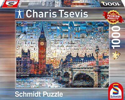 Schmidt Puzzle London Charis Tsevis 1000 Pezzi 59579 0