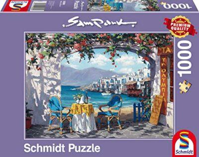 Schmidt Puzzle Rendez Vous A Mykonos Sam Park 1000 Pezzi 59396 0