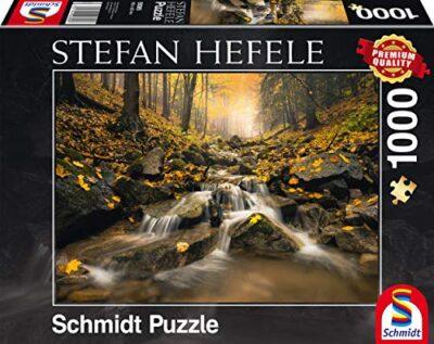Schmidt Puzzle Ruscello Fiabesco Stefan Hefele 1000 Pezzi 59385 0
