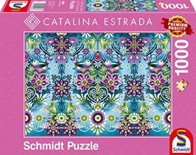 Schmidt Spiele Catalina Estrada Passerella Blu Puzzle Da 1000 Pezzi 59587 0