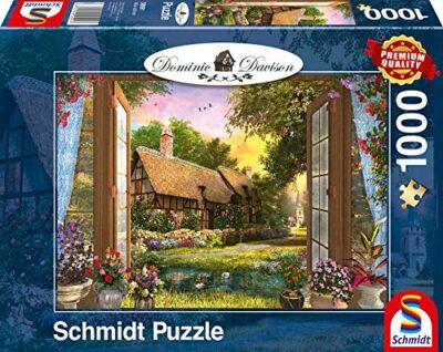 Schmidt Spiele Dominic Davison Puzzle Da 1000 Pezzi 59591 0