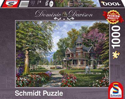 Schmidt Spiele Dominic Davison Puzzle Da 1000 Pezzi Con Torretta Multicolore 59617 0
