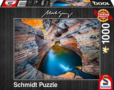 Schmidt Spiele Mark Gray Puzzle Da 1000 Pezzi Indaco Multicolore 59922 0