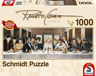 Schmidt Spiele Renato Casaro Invitation Puzzle Da 1000 Pezzi Formato Panorama 0