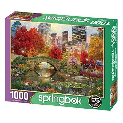 Springboks 1000 Piece Jigsaw Puzzle Central Park Paradise 0 0
