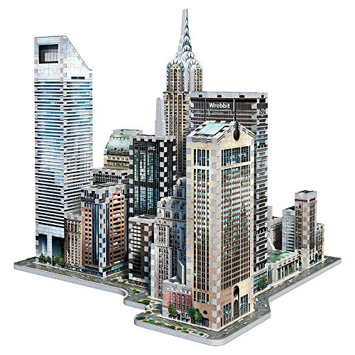 Wrebbit W3d 2011 Puzzle 3d Midtown East 875 Pezzi 0 2