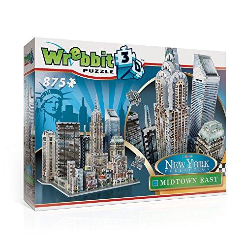 Wrebbit W3d 2011 Puzzle 3d Midtown East 875 Pezzi 0 3