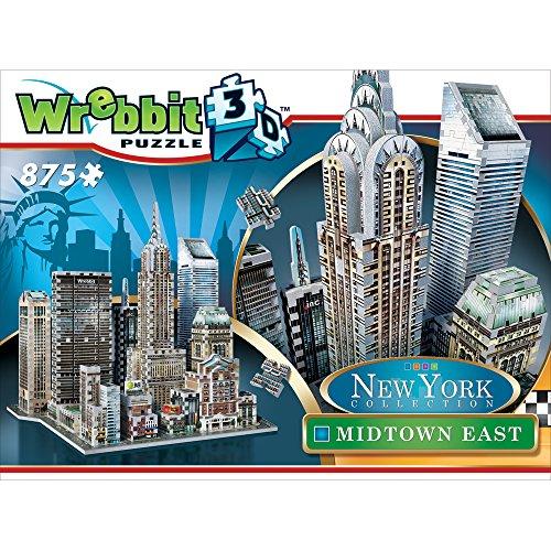 Wrebbit W3d 2011 Puzzle 3d Midtown East 875 Pezzi 0 4