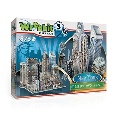 Wrebbit W3d 2011 Puzzle 3d Midtown East 875 Pezzi 0