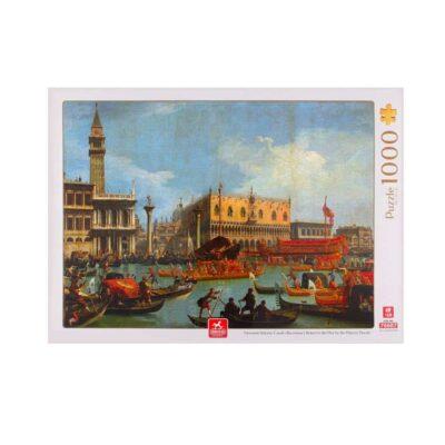 Canaletto Piazza San Marco Bucintoro Puzzle Fronte.jpg