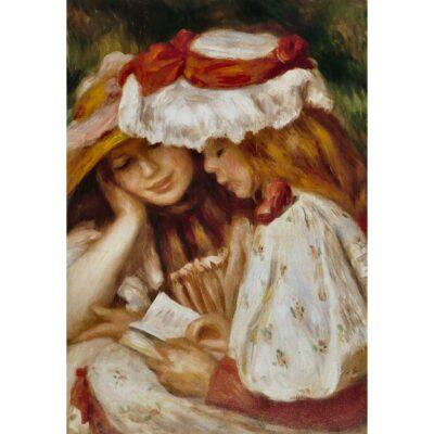 Due Ragazze In Lettura Renoir D Toys 1000 Pezzi Dettaglio Opera.jpg