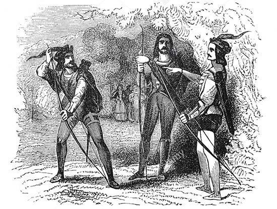 Giochi Puzzle Robin Hood