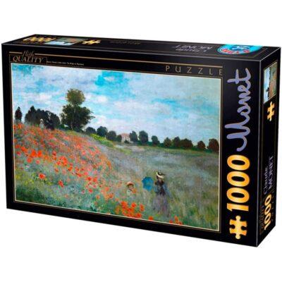 I Papaveri Monet Puzzle 1000 Pezzi Dtoys Arte.jpg