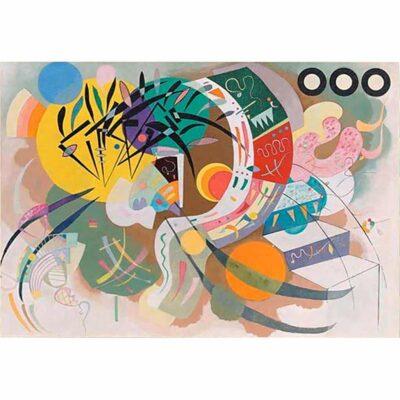 Kandinsky Dominant Curve Puzzle Dtoys 1000 Pezzi Opera Arte.jpg