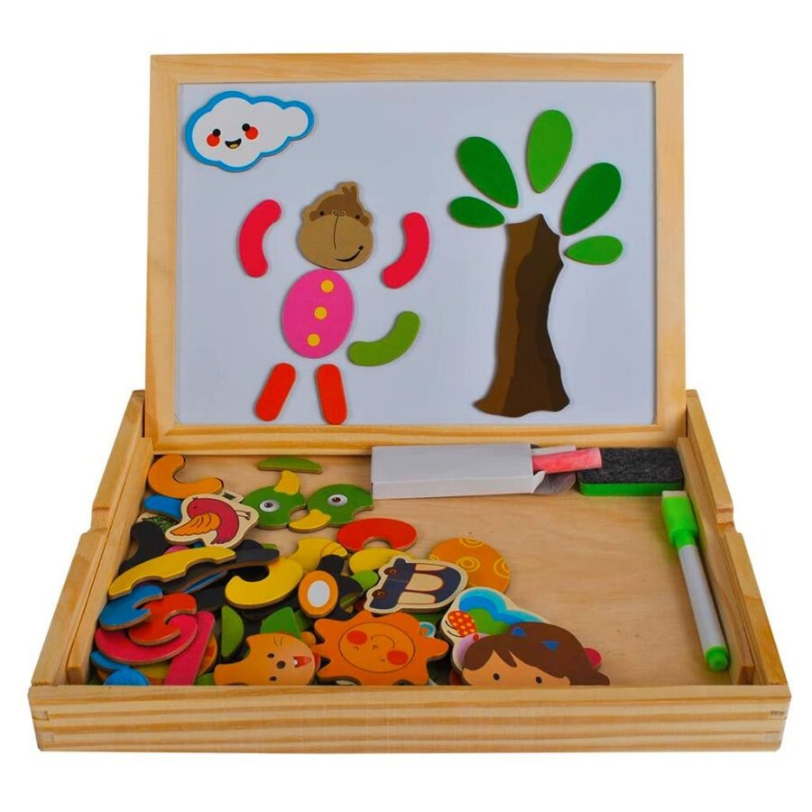 Lavagna Magnetica In Legno Per Bambini.jpg