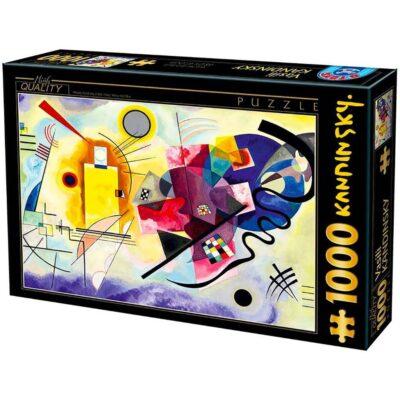 Puzzle 1000 Pezzi Kandinsky Giallo Rosso Blue.jpg