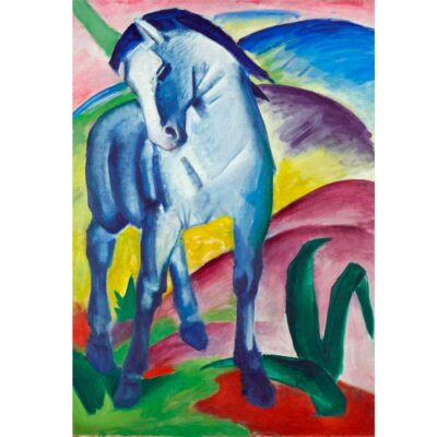Puzzle Cavallo Blue Franz Mark Immagine Puzzle Arte.jpg