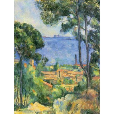 Puzzle Cezanne Veduta Di Estaque E Il Castello.jpg